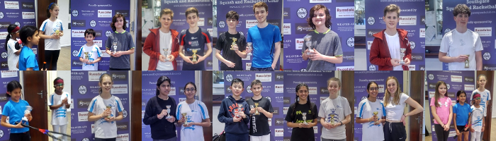 Southgate Junior Open Copper Squash Tournament Feb 2020