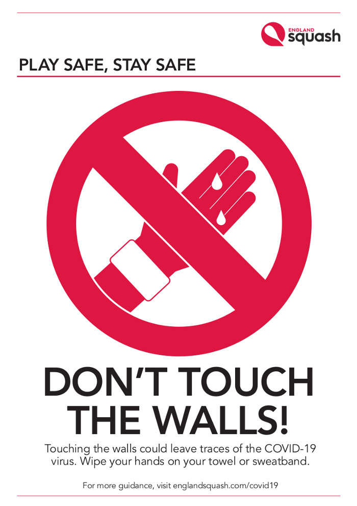 Don't Touch the Walls