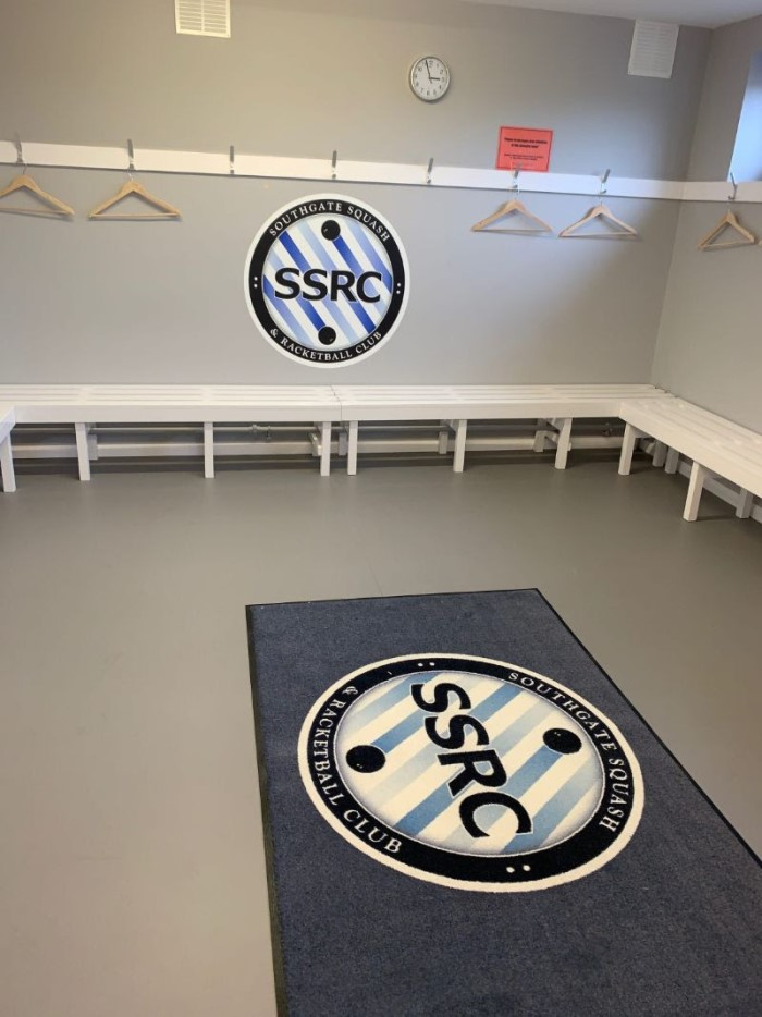 Men's Changing Room Refurbishment Feb 2019