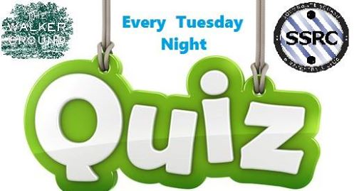 Quiz every Tuesday Night at The Walker Ground from 8pm